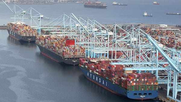 LA Port Congestions
